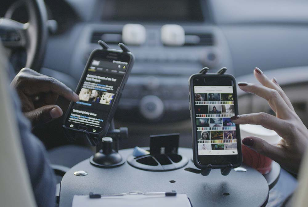 Mobile Office for Cars and Trucks that's Passenger Friendly